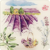Provence Set of 6 Acrylic Coasters
