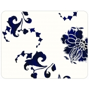 Gien Indigo Acrylic Serving Tray - Large