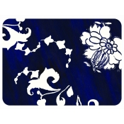 Gien Indigo Acrylic Serving Tray - Small