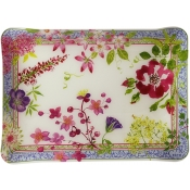 Gien Millefleurs Acrylic Serving Tray - Small