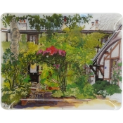 Gien Paris Giverny Acrylic Serving Tray - Large
