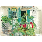 Gien Paris Giverny Acrylic Serving Tray - Small