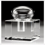 Boxed Glass Inkwell