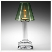Carmen Candle Lamp - green