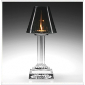 Carmen Candle Lamp - grey