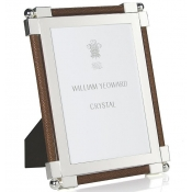 William Yeoward Shagreen Dark Brown Frame - 4 x 6