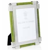 William Yeoward Shagreen Lime Green Frame - 4 x 6