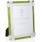 William Yeoward Shagreen Lime Green Frame - 5 x 7
