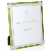 William Yeoward Shagreen Lime Green Frame - 8 x 10