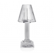 Carmen Candle Lamp - Clear /12""