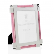 William Yeoward Shagreen Pink Frame - 4 x 6