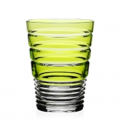 William Yeoward Marina Double Old Fashion Tumbler - Green