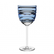 William Yeoward Marina Wine Glass- Blue