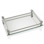 William Yeoward Coco Large Mirrored Bar Tray