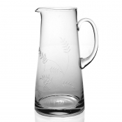 Country Pitchers & Jugs Wisteria Pitcher (Straight Sided) - 9.5""