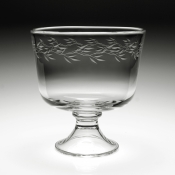 Garland Footed Trifle Bowl - 9""
