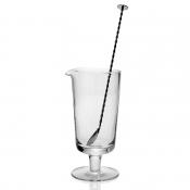 Lillian Footed Mixer Set w / Stirrer