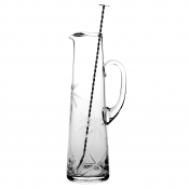 William Yeoward Palmyra Tall Cocktail Jug & Spoon