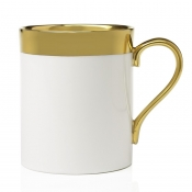 Avington White & Gold Mug - 10 oz.