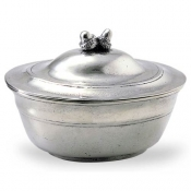 Match Pewter Acorn Lidded Bowl