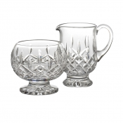 Waterford Lismore Footed Sugar & Creamer