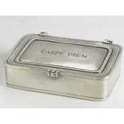 Match Pewter Carpe Diem Box - Small