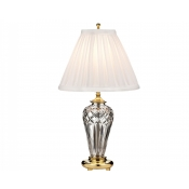 Waterford Belline Accent Lamp (Brass) - 18""