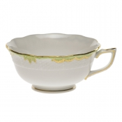 Princess Victoria Green TEA CUP - GREEN