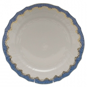 Fishscale Blue Service Plate