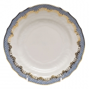 Fishscale Light Blue Bread and Butter Plate
