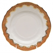Fishscale Rust Bread and Butter Plate