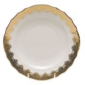 Fishscale Gold Salad Plate