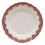 Fishscale Pink Bread and Butter Plate