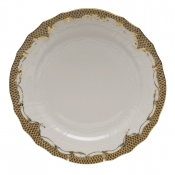Fishscale Brown Service Plate