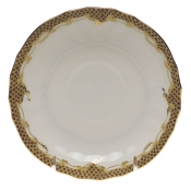 Fishscale Brown Canton Saucer
