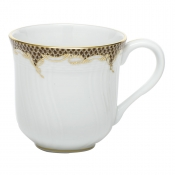 Herend Fishscale Brown Mug - 10 oz.