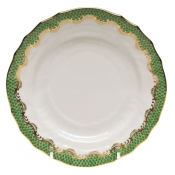 Herend Fishscale Jade Bread and Butter Plate