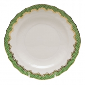 Herend Fishscale Jade Salad Plate
