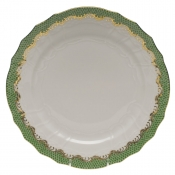 Herend Fishscale Jade Service Plate
