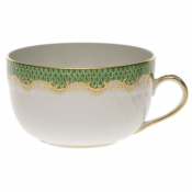 Herend Fishscale Jade Canton Cup