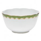 Herend Fishscale Evergreen Round Bowl