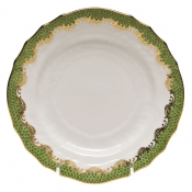 Herend Fishscale Evergreen Bread and Butter Plate