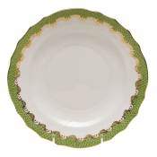 Herend Fishscale Evergreen Salad Plate