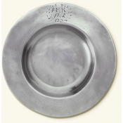 Match Pewter Antique Bottle Coaster w/ Engraving