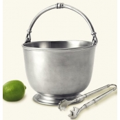Bar Ice Bucket w / Tong Set