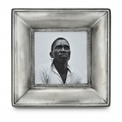 Math Pewter Como Square Frame - Medium - 3.3""