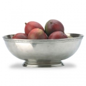 Match Pewter Luna Oval Footed Centerpiece