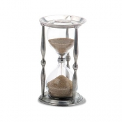Match Pewter Ancient Coin Hourglass - Large
