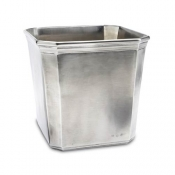Match Pewter Dolomiti Waste Basket