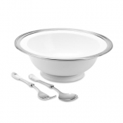 Match Pewter Luisa Footed Serving Bowl